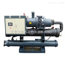 供應西安開放式冷水機|40HP開放式螺桿冷水機