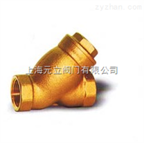 台湾巨瀚BV561青铜Y型过滤器