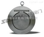 止回阀图片系列:SH74Ⅰ型对夹薄型止回阀,不锈钢对夹式止回阀