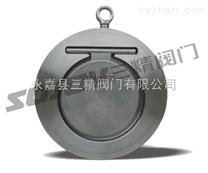 止回閥圖片系列:SH74Ⅰ型對夾薄型止回閥,不銹鋼對夾式止回閥