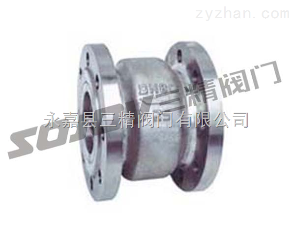 止回阀图片系列:H41X/W不锈钢消声止回阀