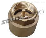 止回阀图片系列:H12W黄铜螺纹式止回阀