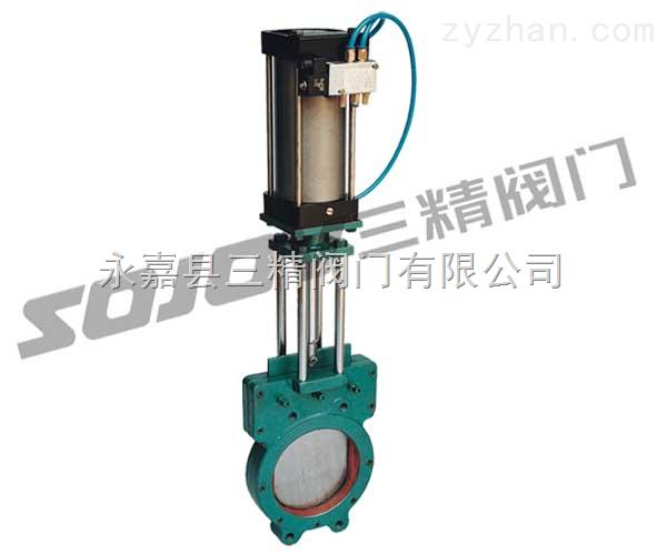 刀型闸阀图片系列:Z973X电动浆液闸阀