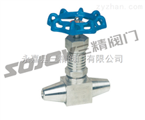 针型阀图片,仪表阀门图片系列:J63Y高温高压针型阀 三精阀门