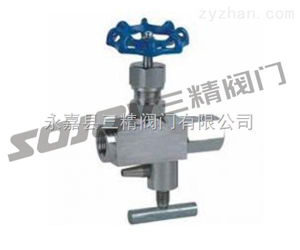 针型阀图片,仪表阀门图片系列:CJ123H多功能针型阀 三精制造