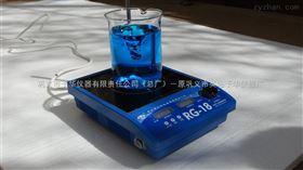 RG-18新型数显磁力搅拌器,微晶面,油浴数显控温