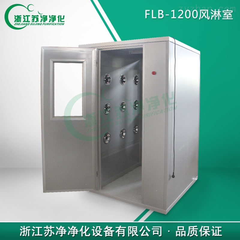 全自动风淋室 双人双吹风淋门FLB-1200