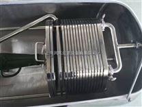 直销可移动板框过滤机 食用油过滤机 带保护罩板框过滤机