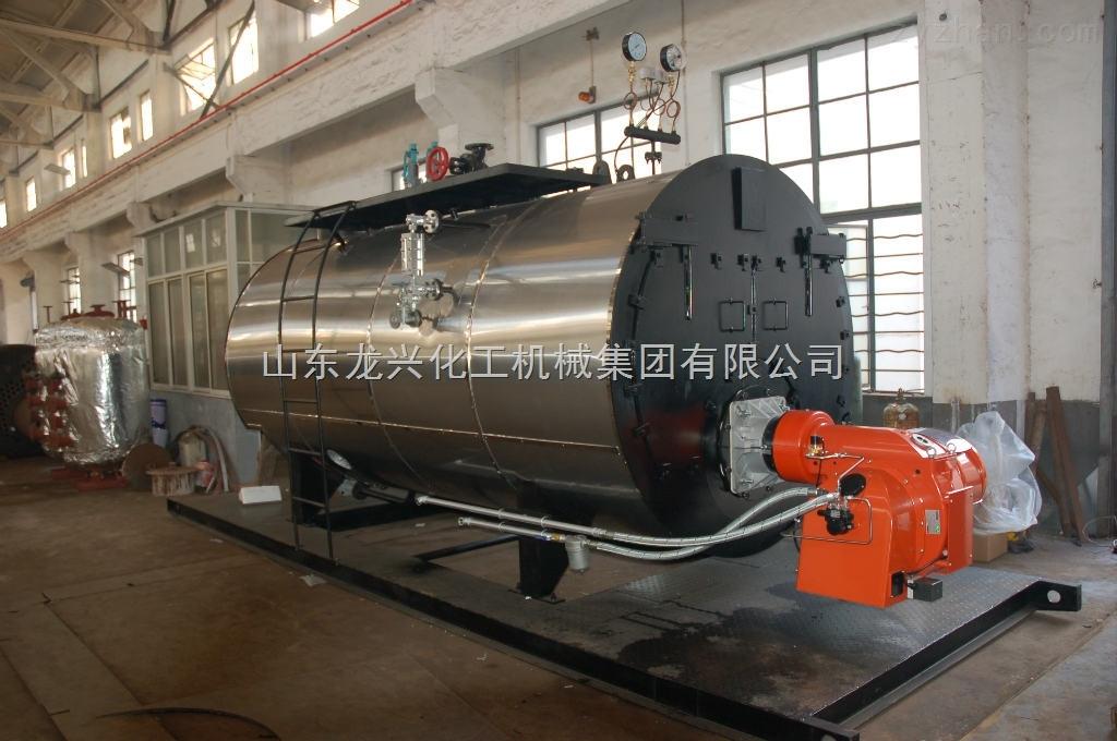 冷凝卧式蒸汽锅炉——技术先进