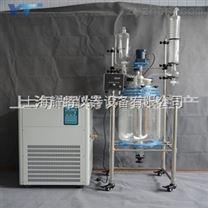 上海80L双层玻璃反应釜
