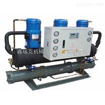 电镀化工厂专用制冷机20HP水冷冷水机组