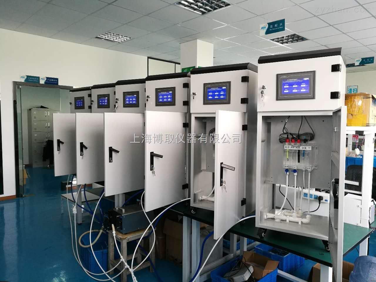水库,水利局泵站房安装常规五参数监测仪,多参数在线分析仪