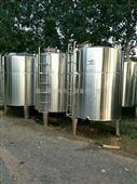 二手不锈钢储罐/保温加热储水罐/内外抛光储罐/搅拌罐