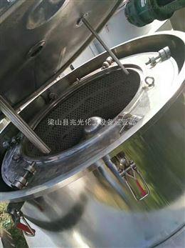 二手1250型三足吊袋/刮刀下卸料离心机