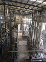 供应二手6吨四效降膜强制循环蒸发器正规厂家